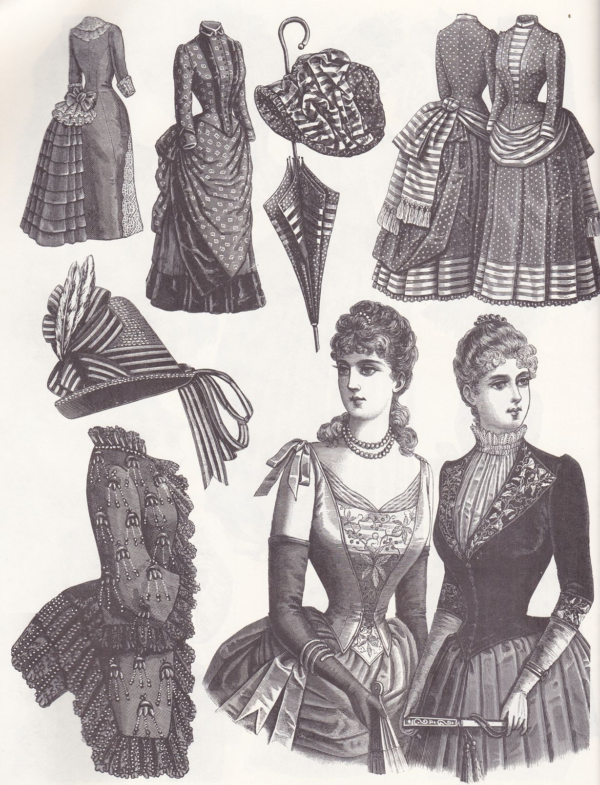 Victorian fashions a pictorial archive 9