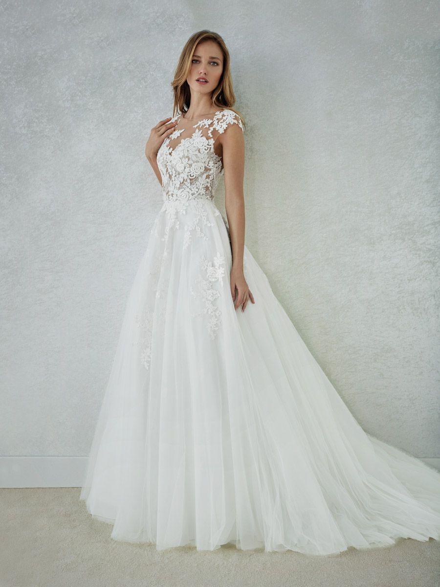 NM_FELICIDAD-B | Brautmode, Brautkleid, Hochzeitskleid