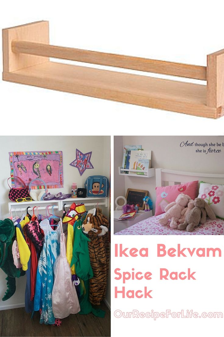 Ikea Bekvam Spice Rack Hacks Dress Up Storage Ikea