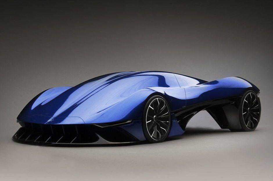 Maserati Please Make This Concept Real Futuristic Cars Design