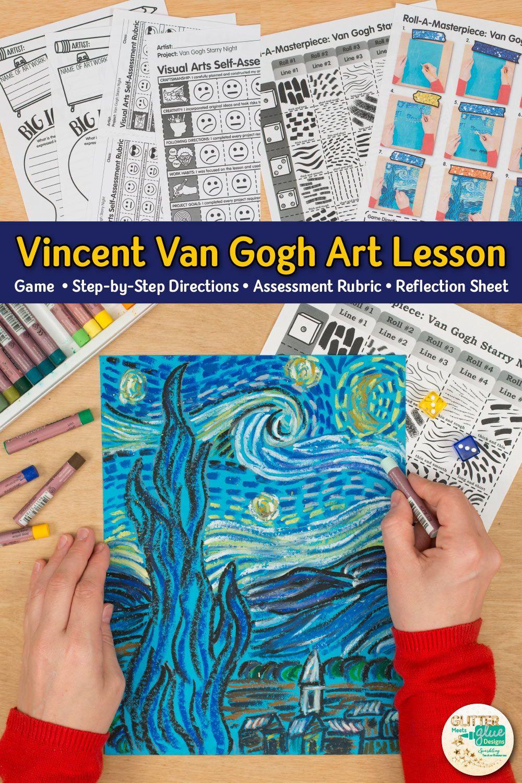 Photo of Van Gogh Starry Night Art Game