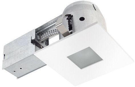 "Globe Electric Company Ryanne Bathroom Square 4"" LED Recessed Lighting Kit. #ad http://shopstyle.it/l/rkhC"