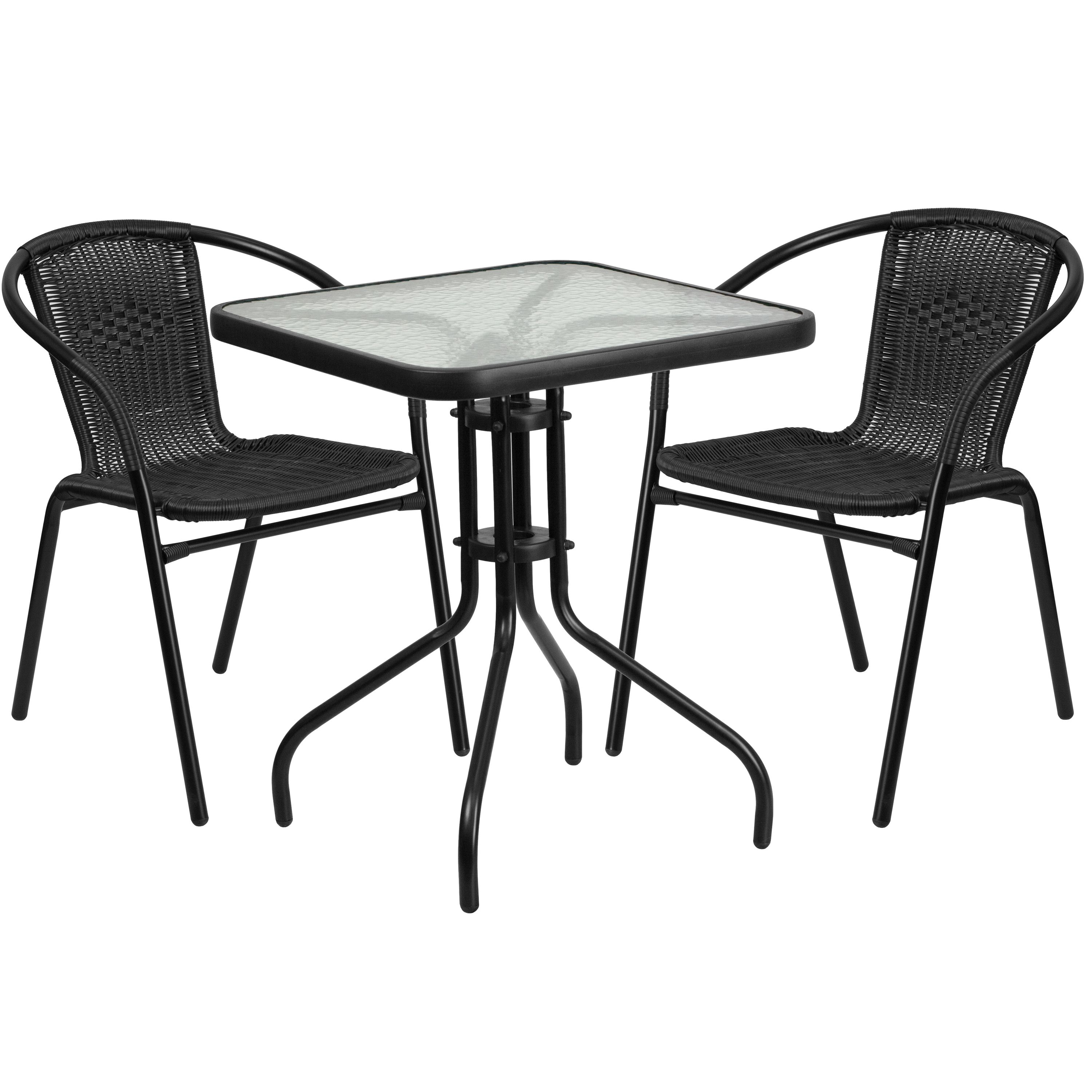 Shop By Brand Glass Table Set Bistro Set Modern Outdoor Dining