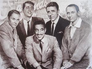 The Rat Pack...Frank Joey, Sammy, Peter, Dean