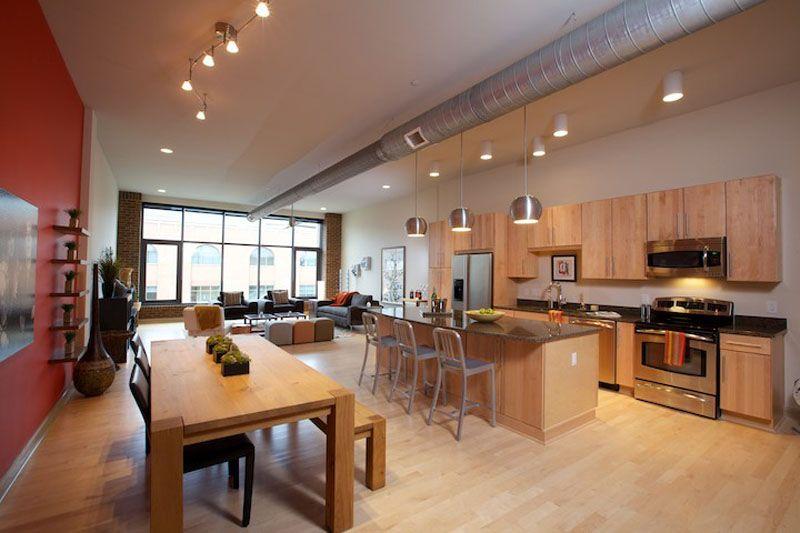 Look At The Industrial Open Floorplan At Northbank Condos Columbus Ohio Cool Apartments Floor Plans Condo