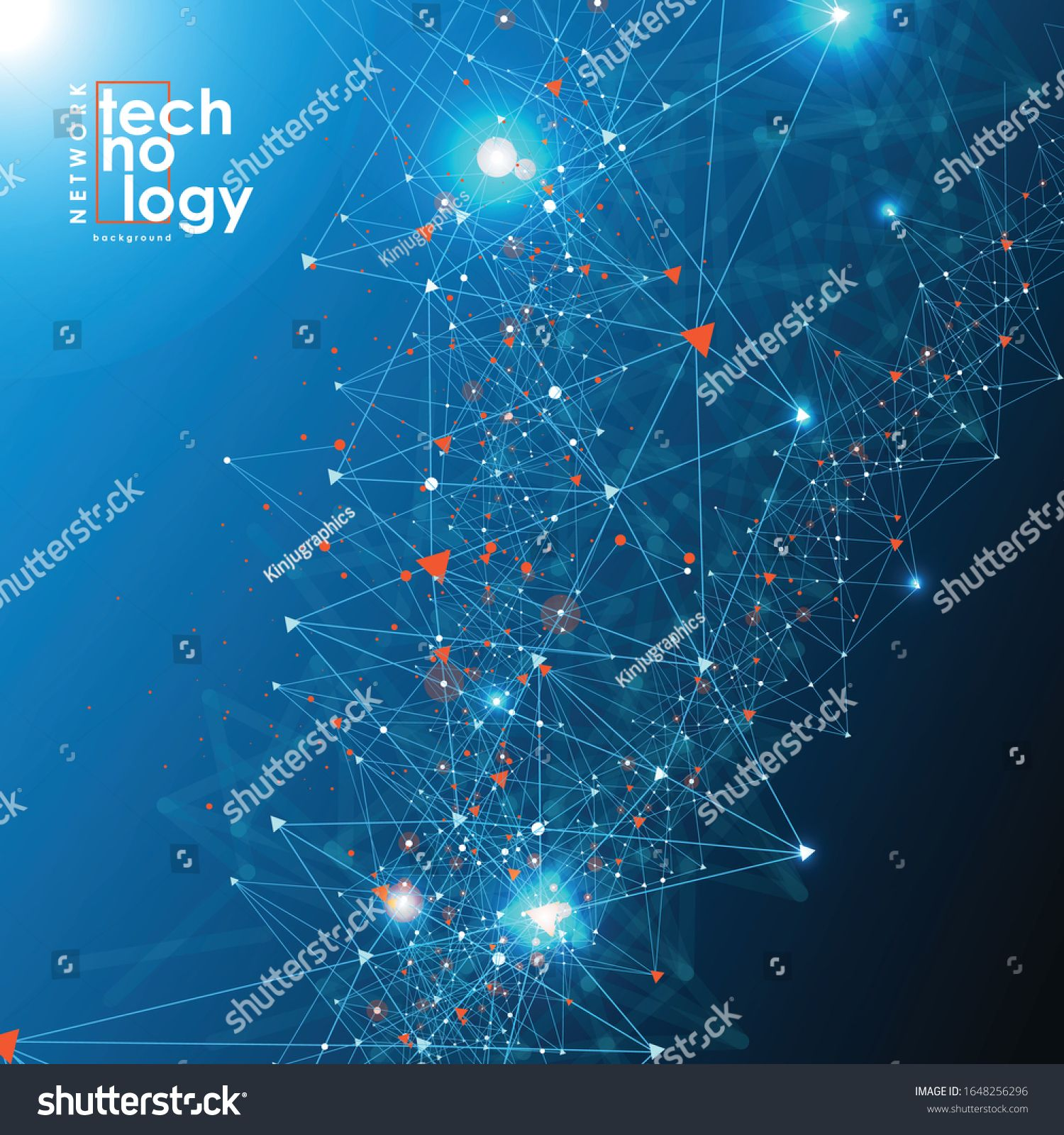 Abstract Technology Background With Big Data Internet Connection Abstract Sense Of Science And Technolo In 2020 Digital Illustration Technology Background Background