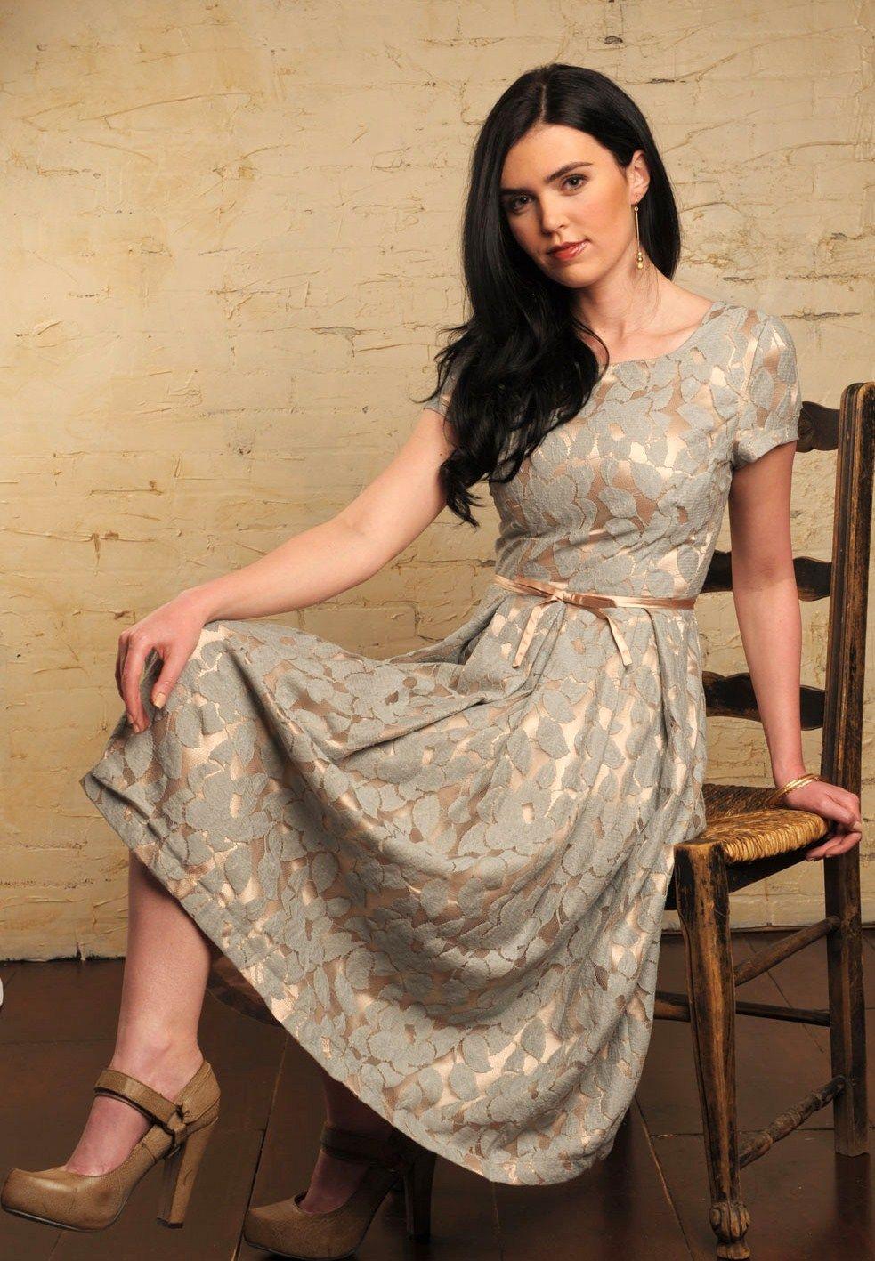 very feminine clothing