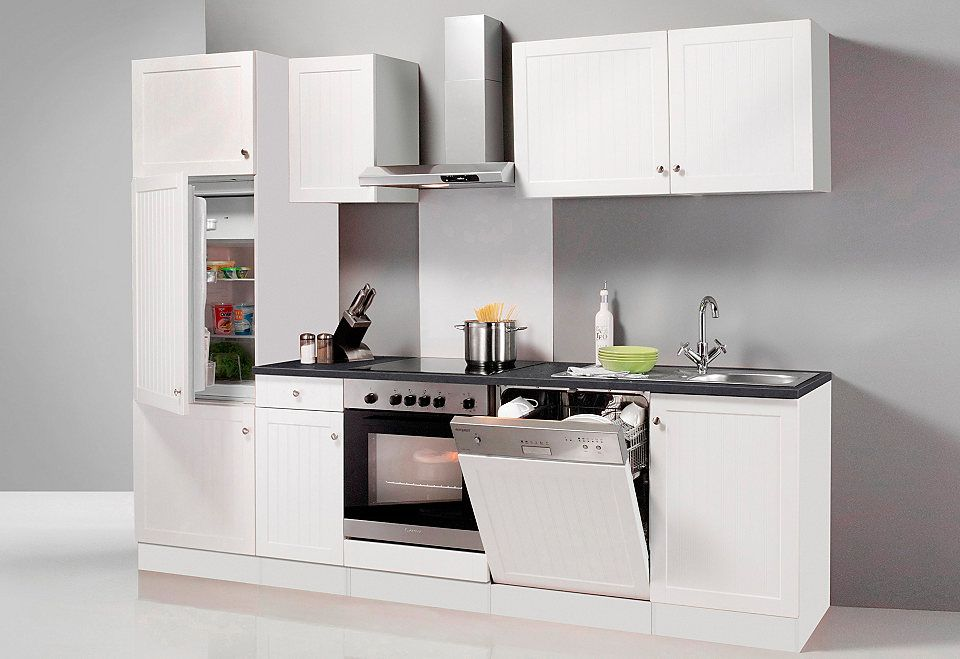 OPTIFIT Küchenzeile ohne E-Geräte »Bornholm, Breite 270 cm« Jetzt - küchenzeile 160 cm