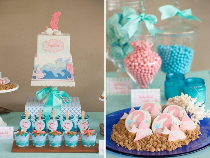 Exceptional Mermaid Baby Showers