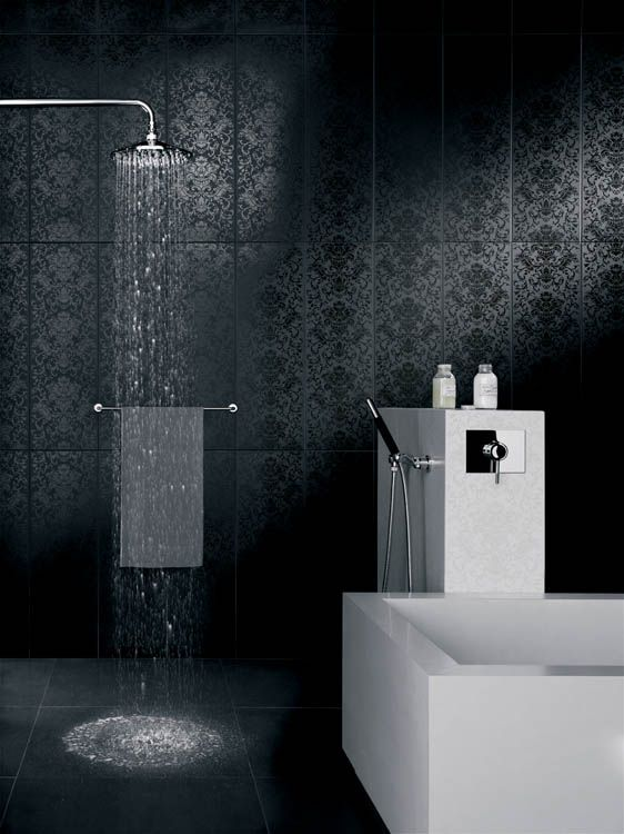 Want One Of These Showers White Bathroom Tiles White Bathroom Interior Wall Design