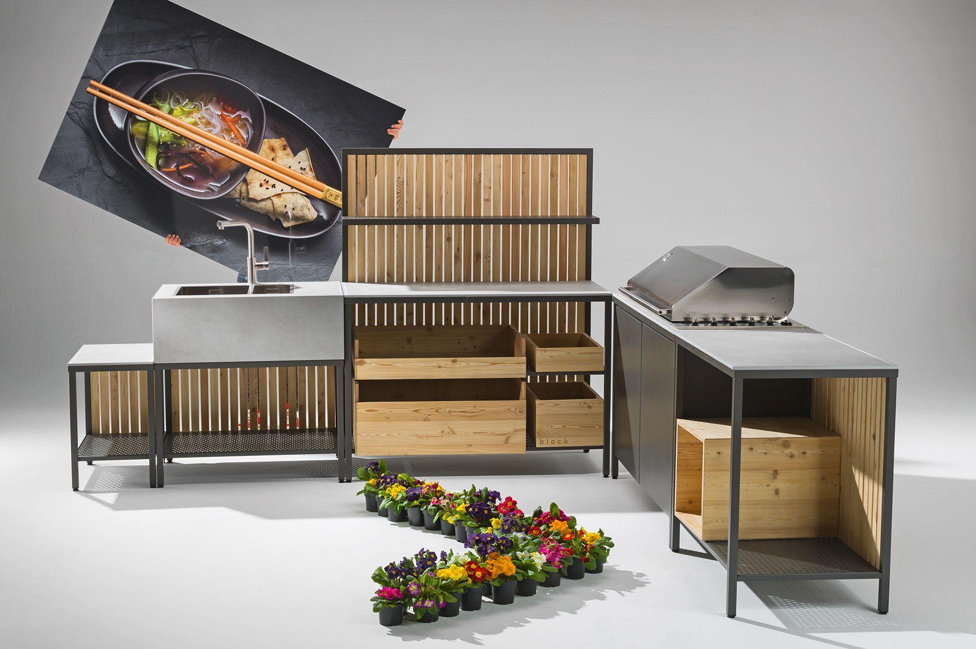 Outdoor Küche Instagram : Die modulare outdoor küche mit bewusst einfacher struktur und