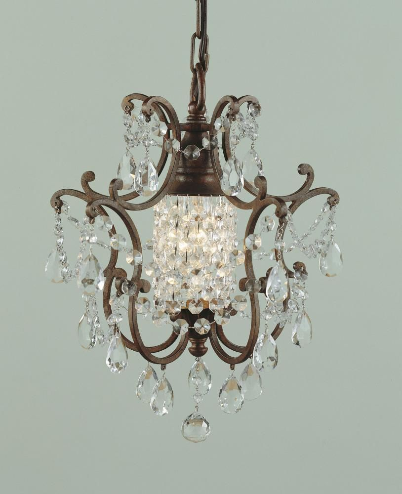 This Mini Crystal Chandelier Is Great For Dining Entry Hall Bathroom Or Bedroom Brought To