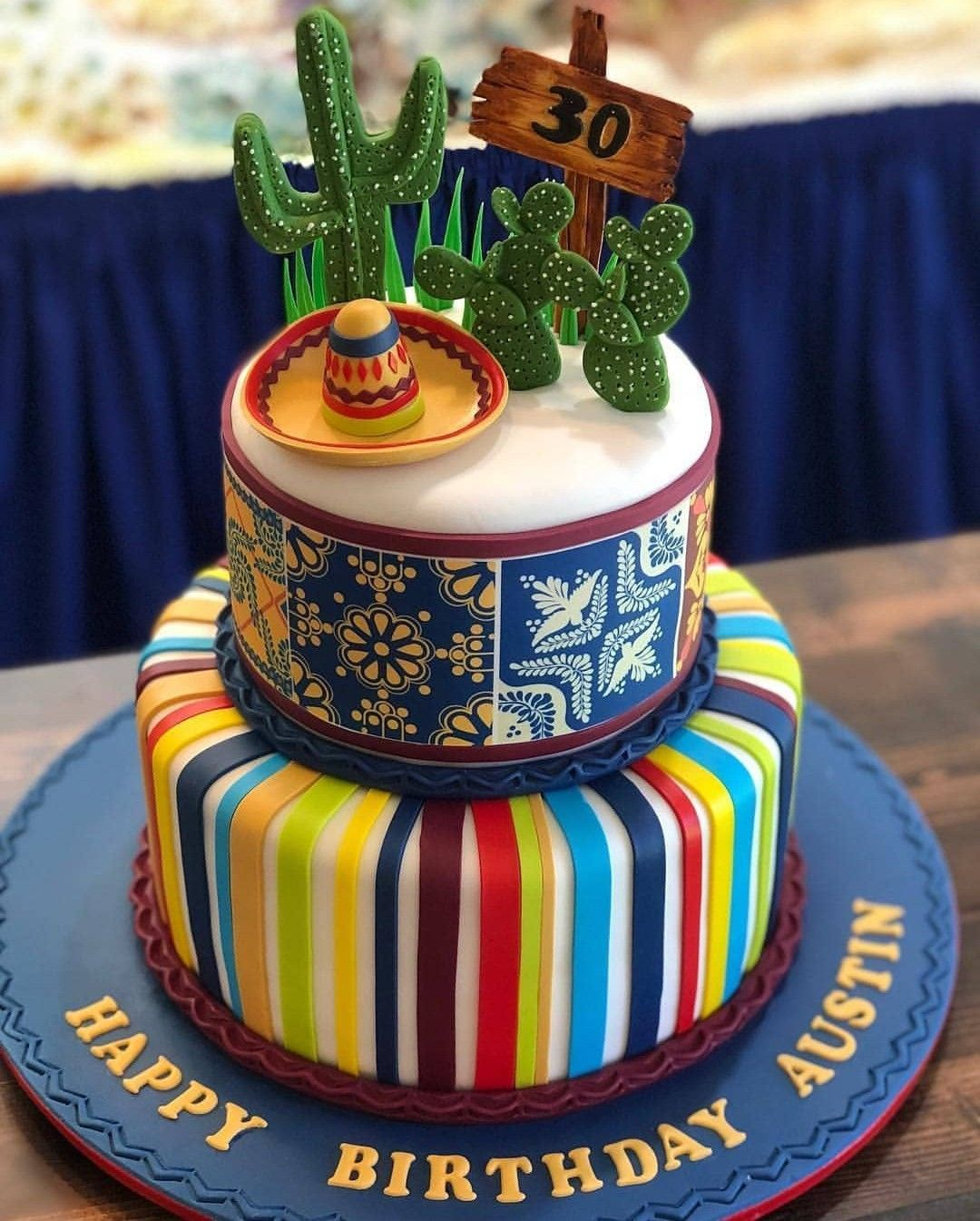 Pin By G On Cakes With Images Mexican Birthday Parties