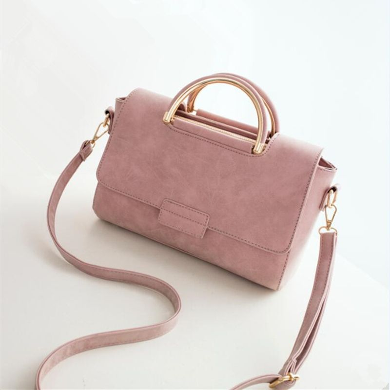 INLEELA New Arrive Women All-match Bag Fashion Nubuck Handbag High Quality  Medium Shoulder Bag