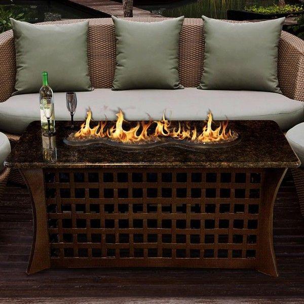 California Outdoor Concepts La Costa Del Rio 54 Inch Propane Fire Pit 2 280 Liked On Pol Propane Fire