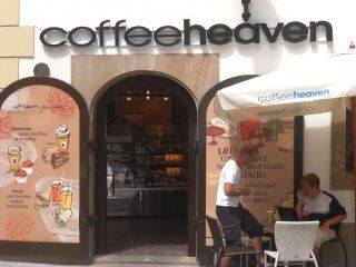 Krakow...right off the square I believe...great coffee...went here after the opera...aewsome