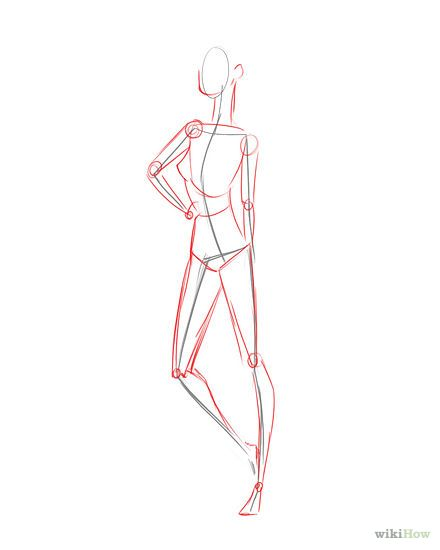 How To Draw Fashion Figures Fashion Model Sketch Fashion Figures Fashion Model Drawing