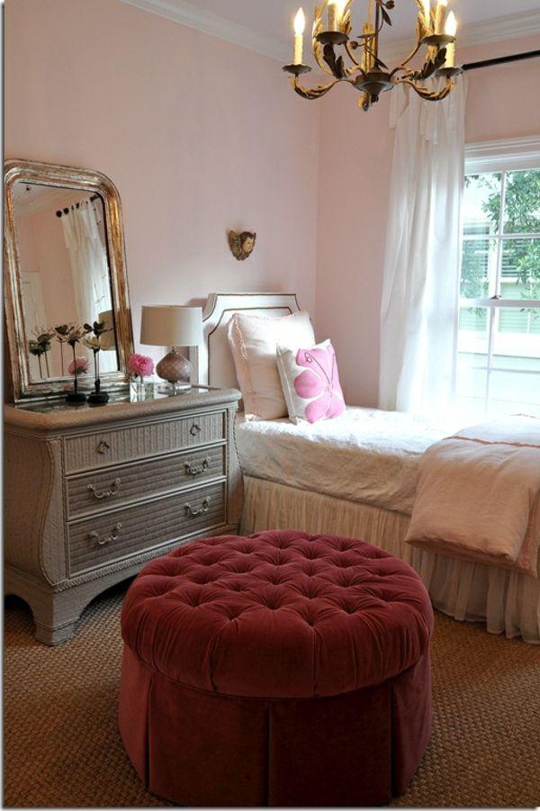 Bien Style De Chambre Pour Fille #9: Baroque-déco-chambre-ado-fille.jpg 600 × 901 Pixels