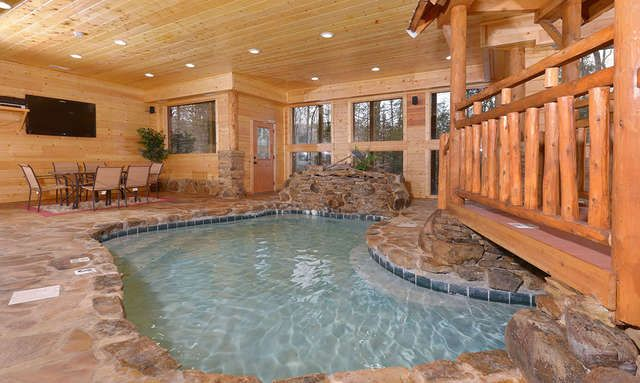 Pigeon Forge Cabins Copper River Tennessee Cabins Indoor Pool Cabins In Gatlinburg Tn