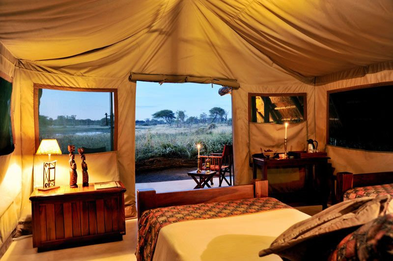 Image Gallery Hwange Pictures The Hide Safari Camp Luxury Tents Safari Tent Tent Living House of glam zimbabwe
