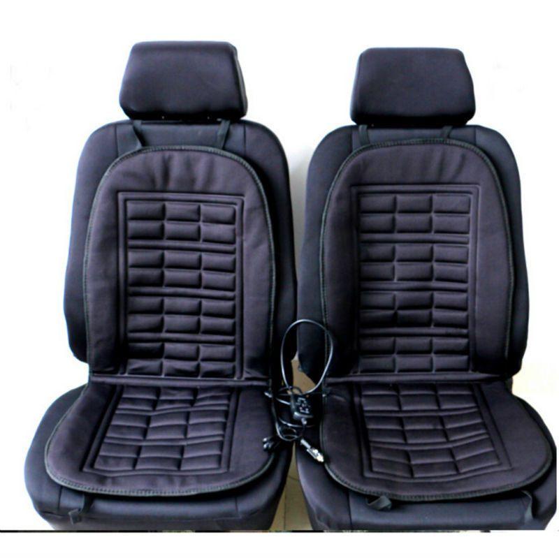 12v Car Seat Cushion Cover Heated Warmer Pad Heater Hot Heat Lumbar Winter Truck