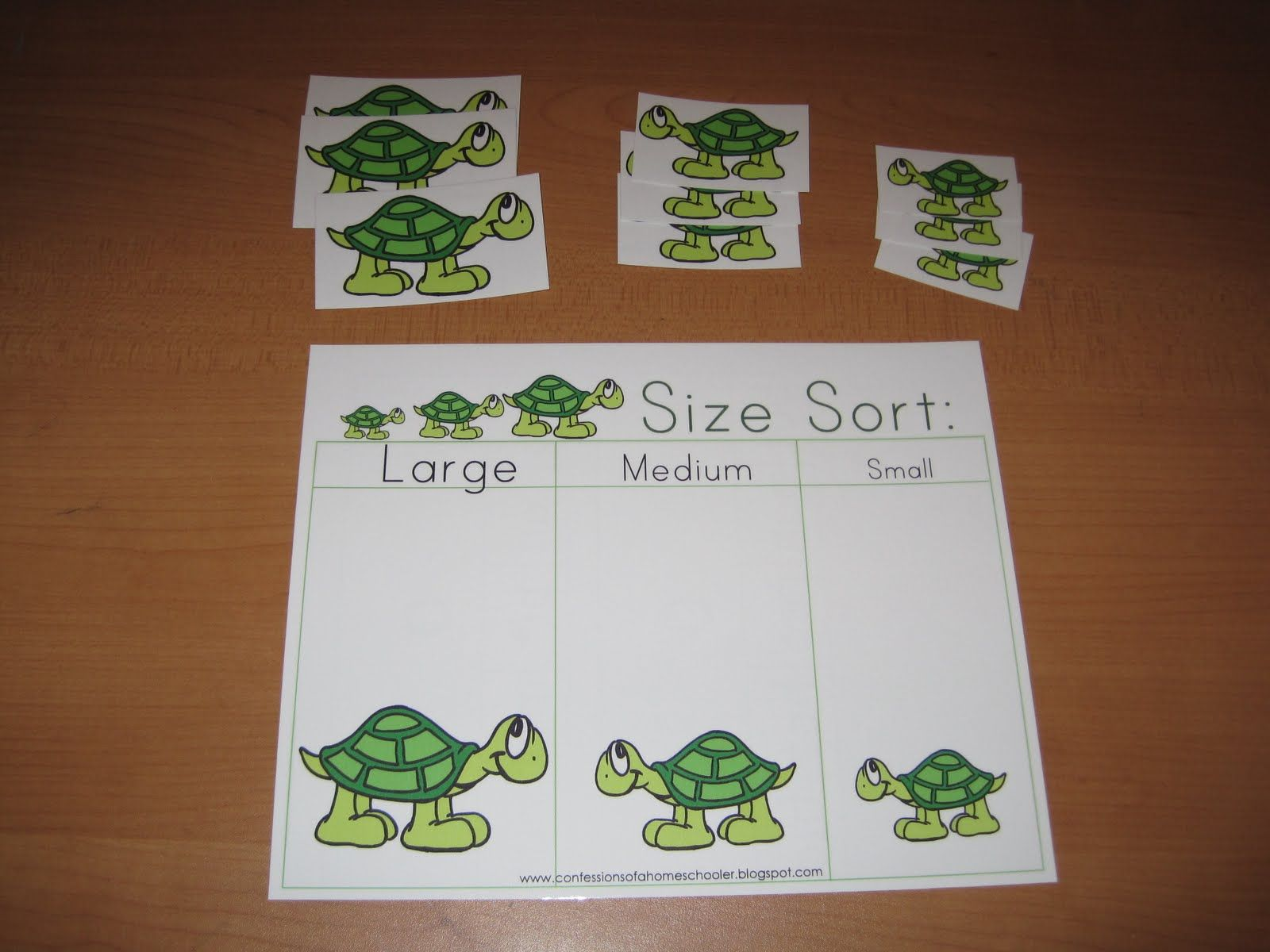 Preschool Letter T For Turtle
