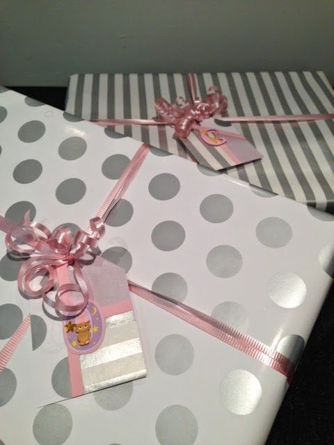 First Birthday Gift Wrap