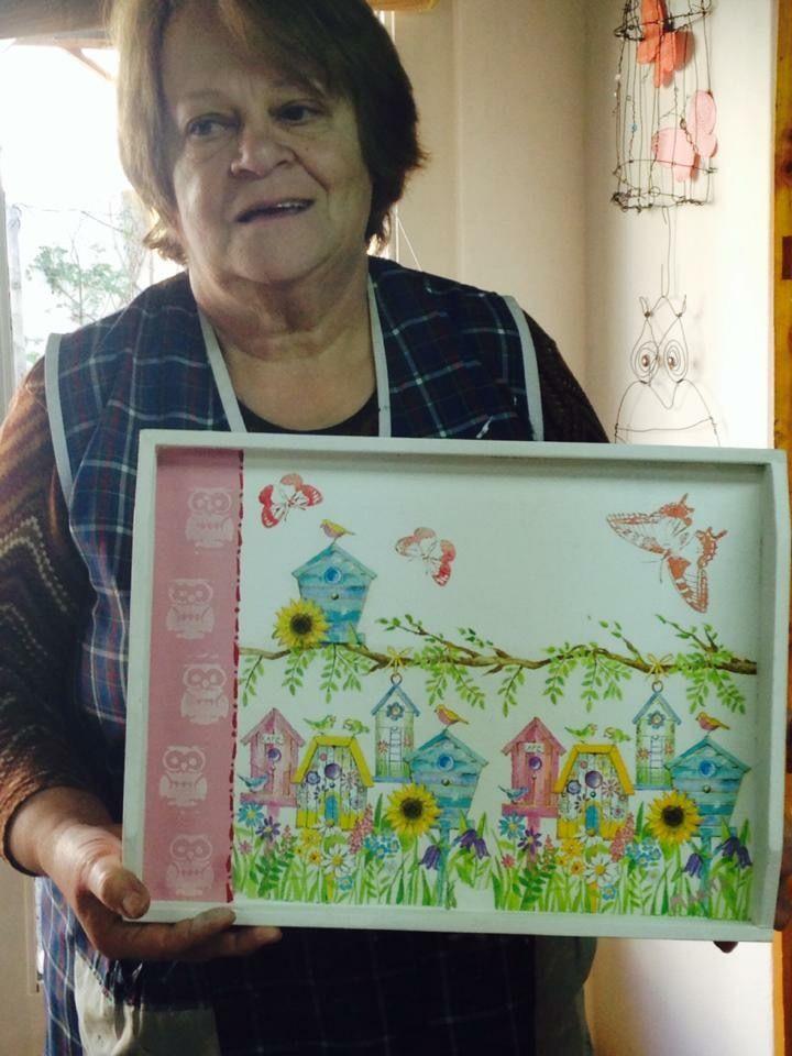 Hecho por Marita Bustafan en el taller de Rosita  Perosa