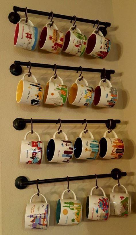 10 Fantastic DIY Mug Holder That Holds Your Favorite Mugs - HomelySmart