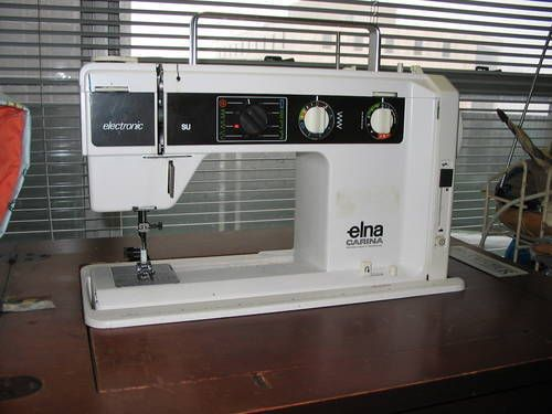 Creative Performace™ Topoftheline Sewing Machine With New Elna Carina Sewing Machine