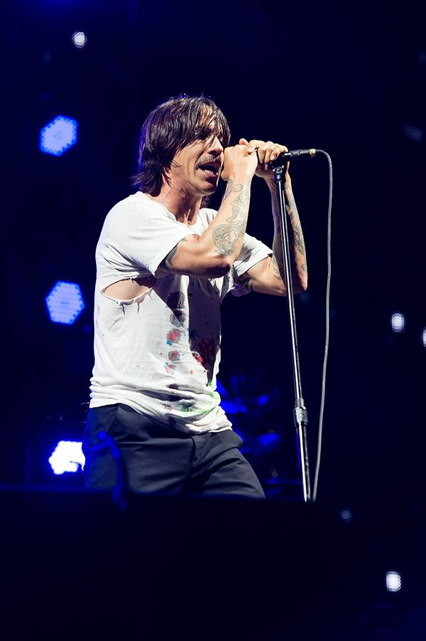 Anthony Kiedis: Red Hot Chili Peppers Singer Rushed To Hospital Before Concert