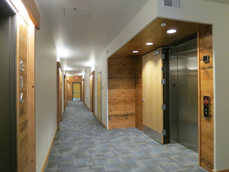 Residential elevator lobby google search residential - Commercial interior design codes ...