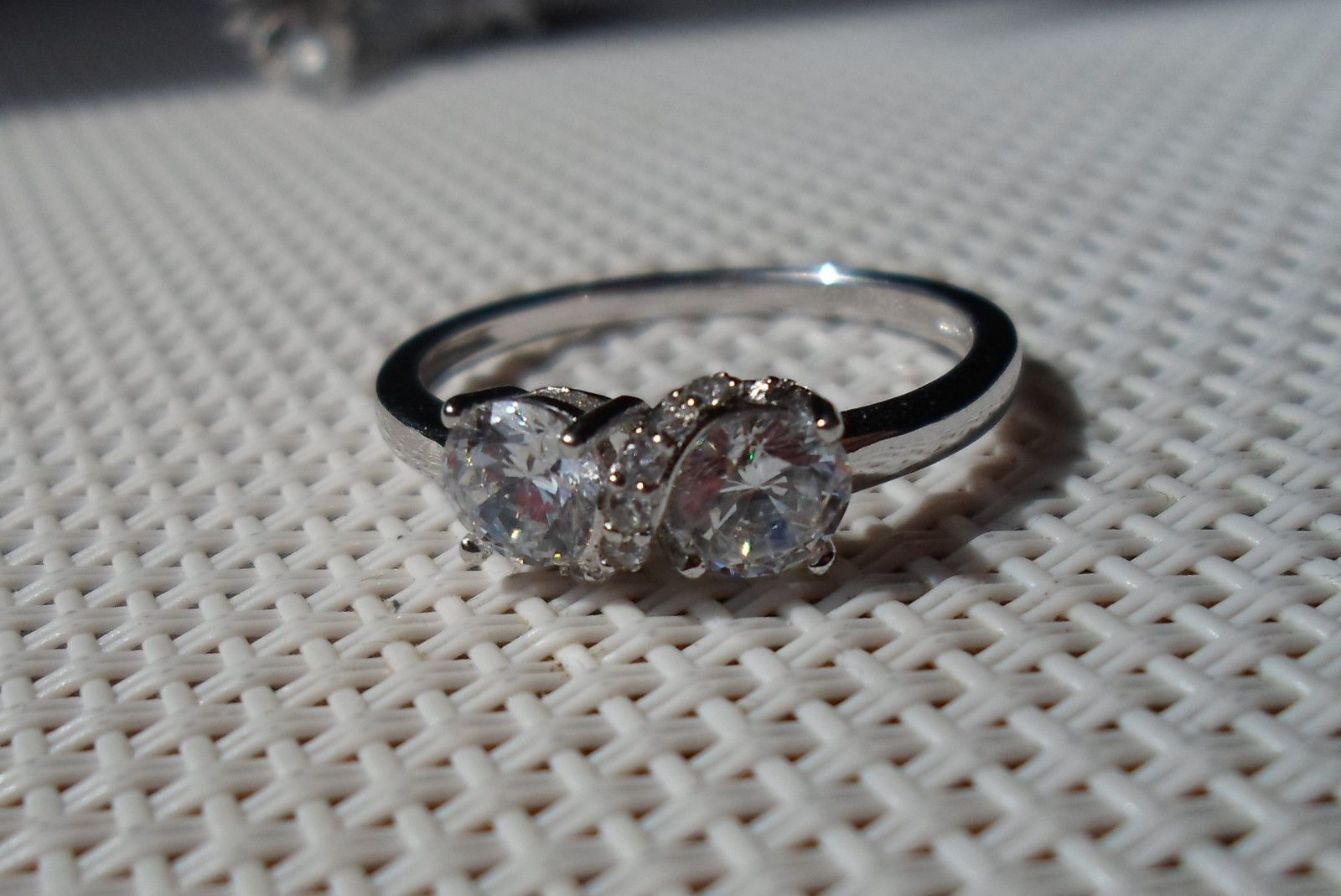 Platinum Qvc Diamonique Cz
