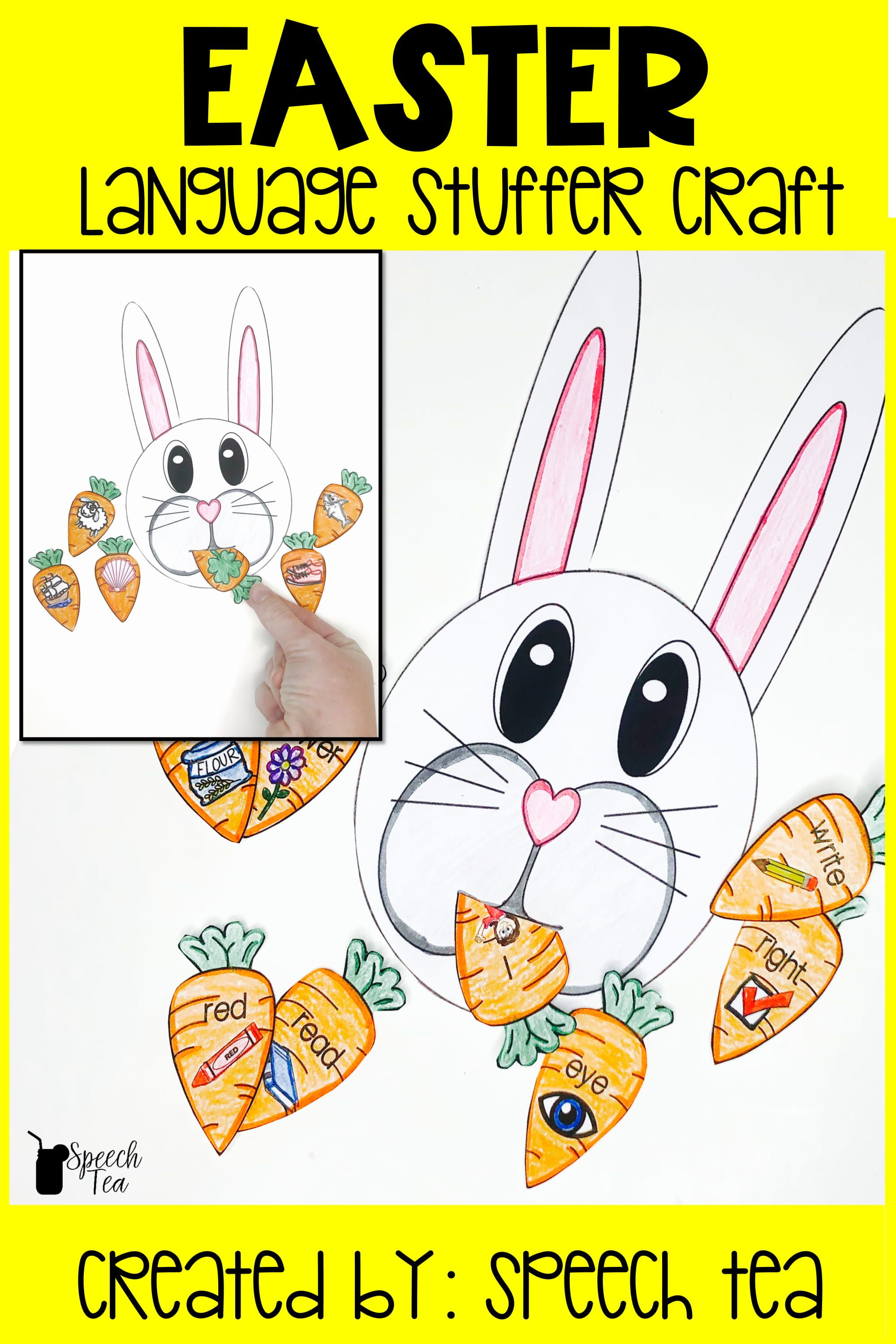 Easter Language Stuffer Craft