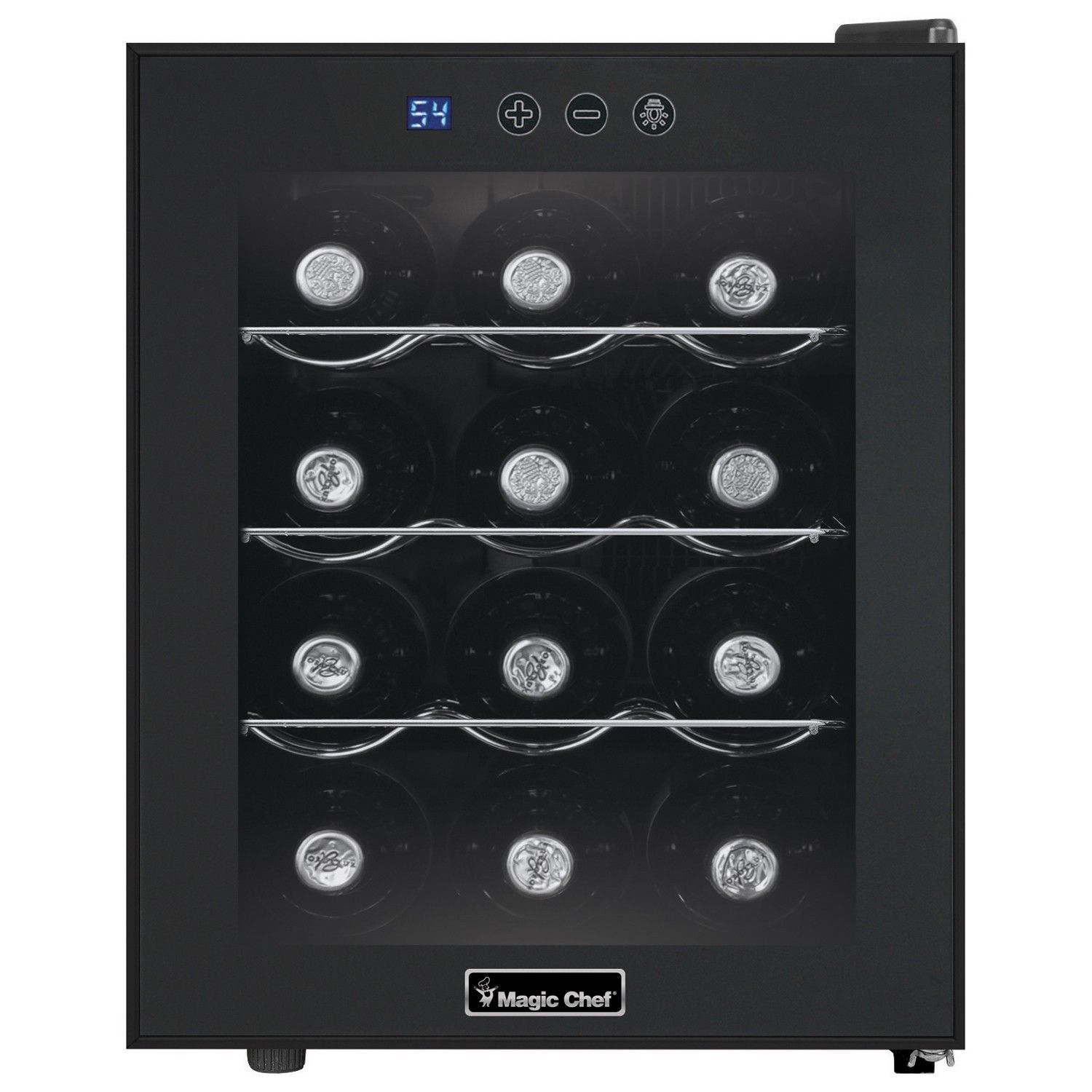 Magic Chef 12 Bottle Countertop Wine Cooler Black Products Wine Fridge Wine Refrigerator Best Wine Coolers