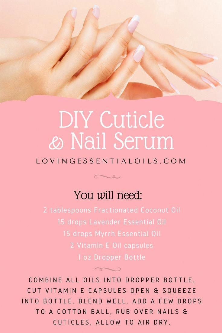 diy cuticle oil with essential oils