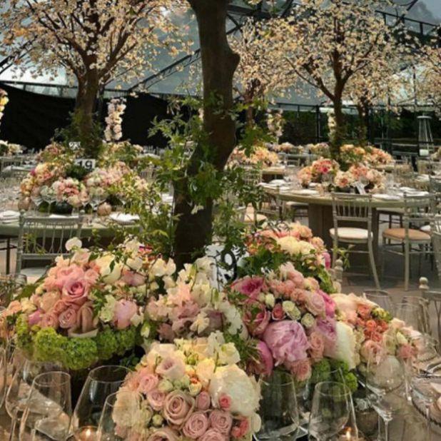 First Look Inside Pippa Middleton S Wedding Reception As Florist Spills The Beans Stuff Co Nz