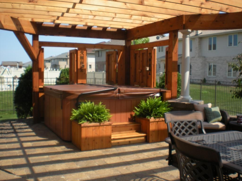 pergola in tinley park provided by fisher builders u0026 remodeling