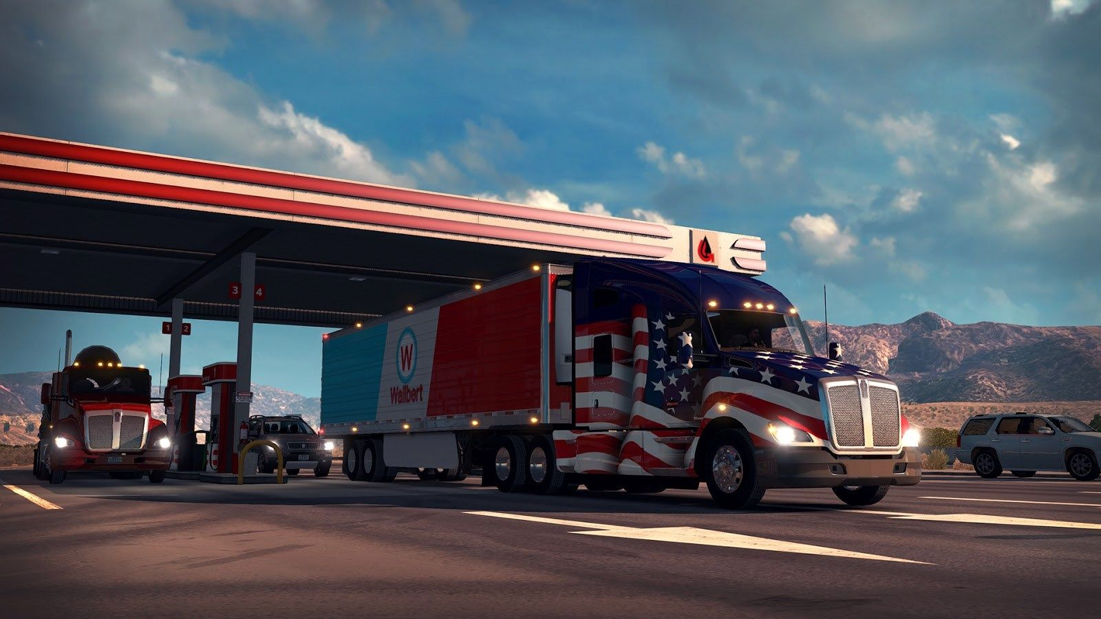 Most Beautiful American Truck Simulator Wallpaper American Truck