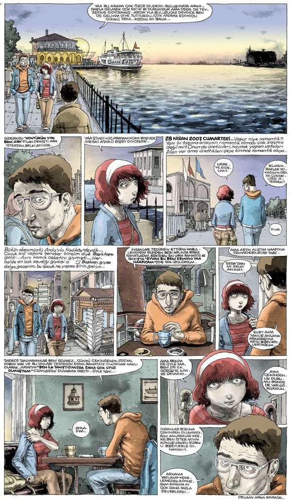 comic pages by Ersin Karabulut, via Behance