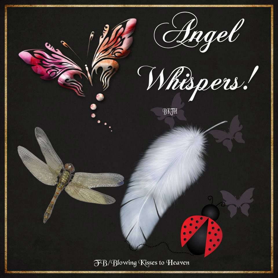 Angel Whispers Signs Heaven Spiritual Quotes