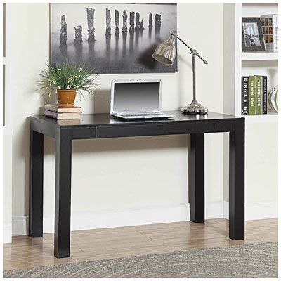 Parsons Black Desk Big Lots Black Desk Black Office Furniture Home Office Furniture