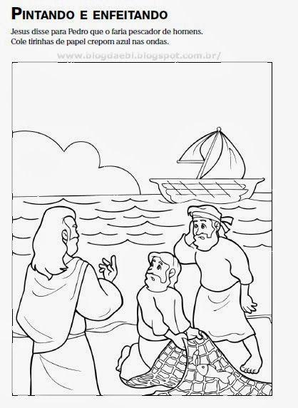 Cristãos kids: História bíblica: Pedro o pescador de gente ...