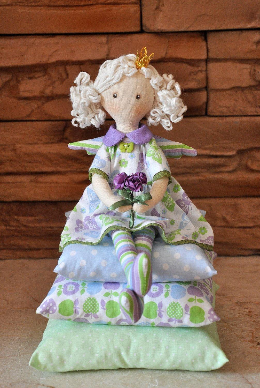 Princess on the Pea, cloth doll, , handmade doll, art doll, handmade doll , fabric doll, soft doll, rag doll by Neonila1 on Etsy https://www.etsy.com/listing/230330023/princess-on-the-pea-cloth-doll-handmade