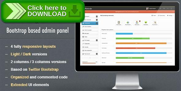 download template php free. flexible user friendly admin panel ...