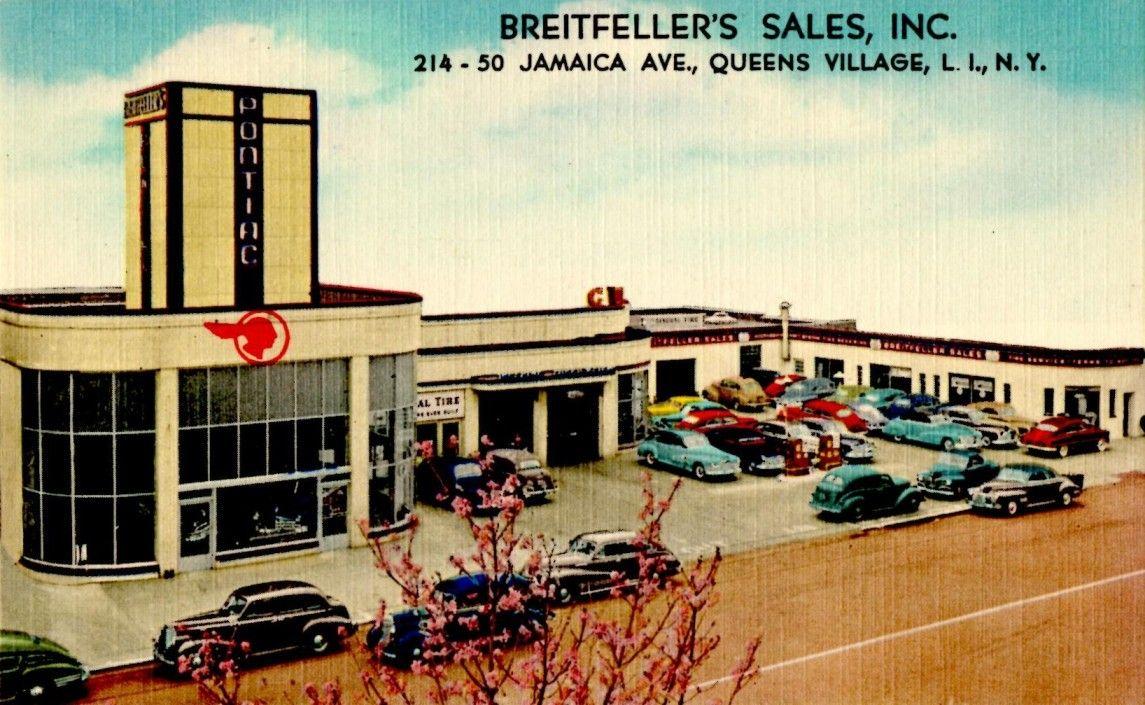 Pontiac Garage, Breitfeller's Sales, Inc., 21450 Jamaica