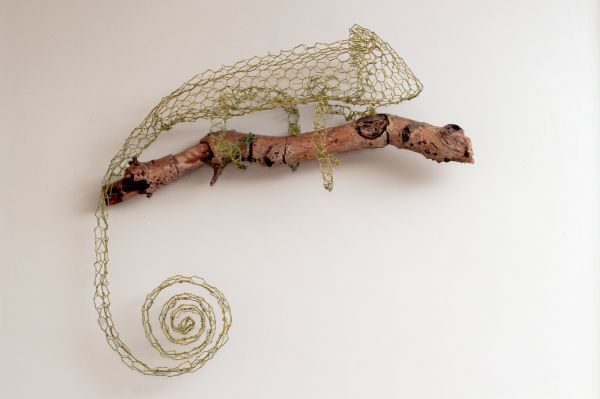 Chickenwire #sculpture by #sculptor William Ashley-Norman titled ...