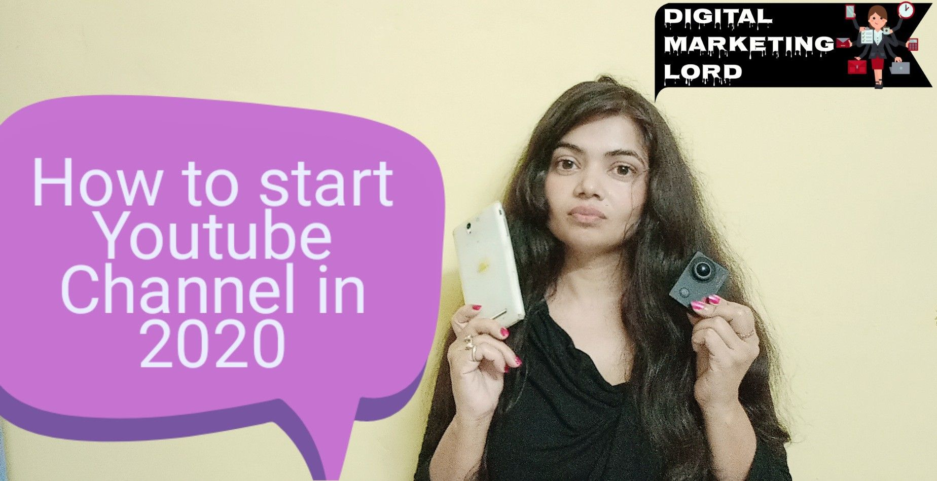 How To Start Youtube Channel In 2020 Start Youtube Channel How To Start Youtube Digital Marketing