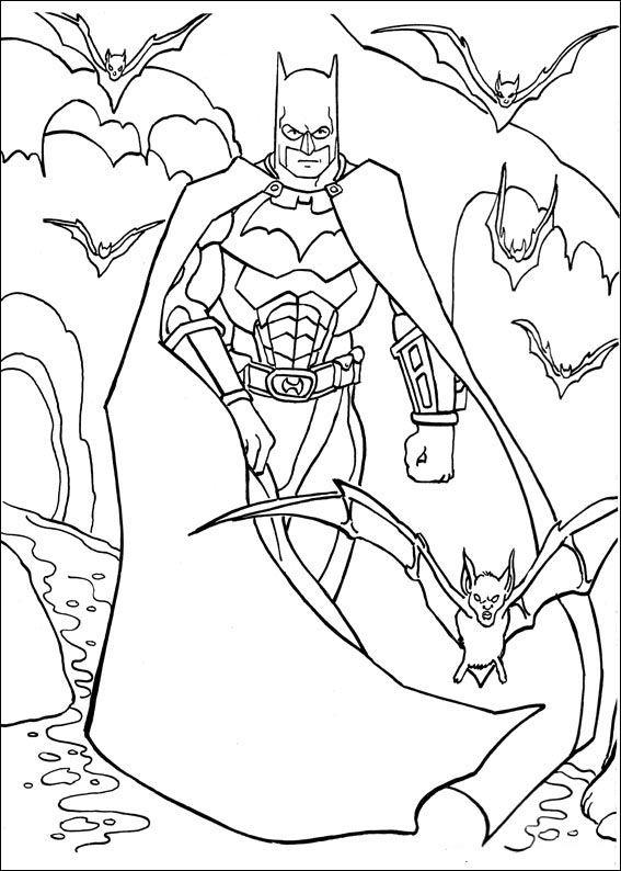 Batman Ausmalbilder 19 | Batman | Pinterest | Mandalas y Dibujo