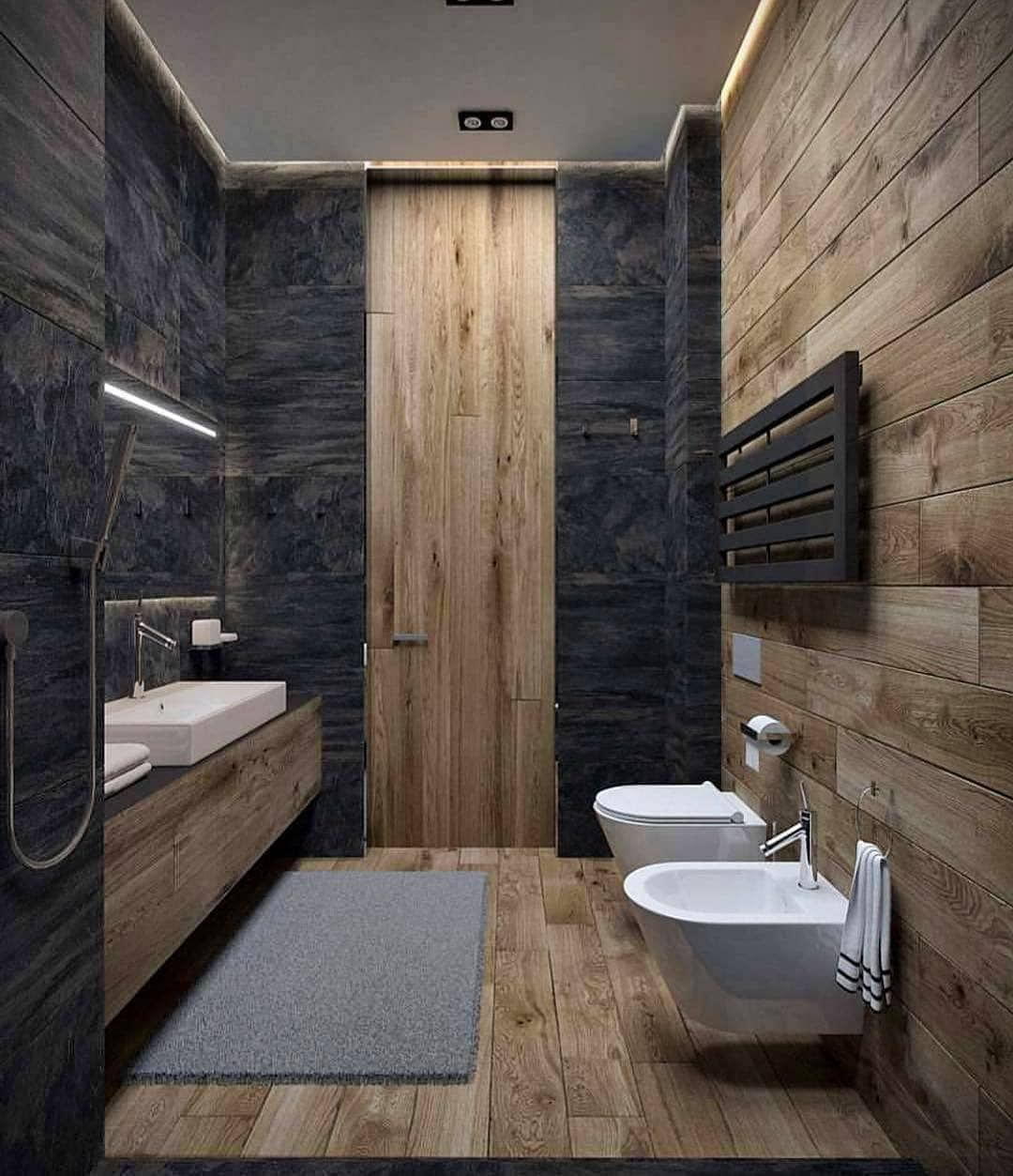 What Do You Think About This Beautiful Bathroom Designed By Svoya Design Follow Luxhousedesign For Bagno Interno Arredamento Bagno Idee Bagno Piccolo